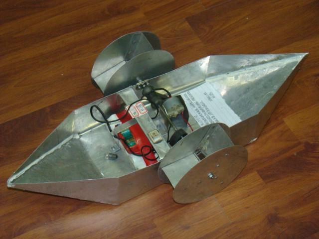 科技小制作船的步骤